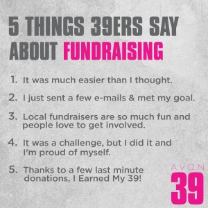 5 things about fundraising